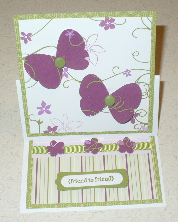 Easel Butterfly Cards