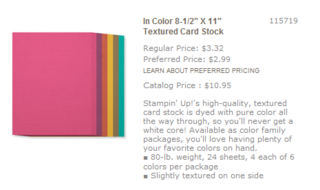 Incolorcardstock