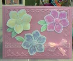 Joanies build a blossom
