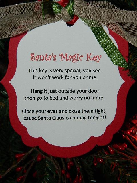 Santa S Magic Key Create With Dee