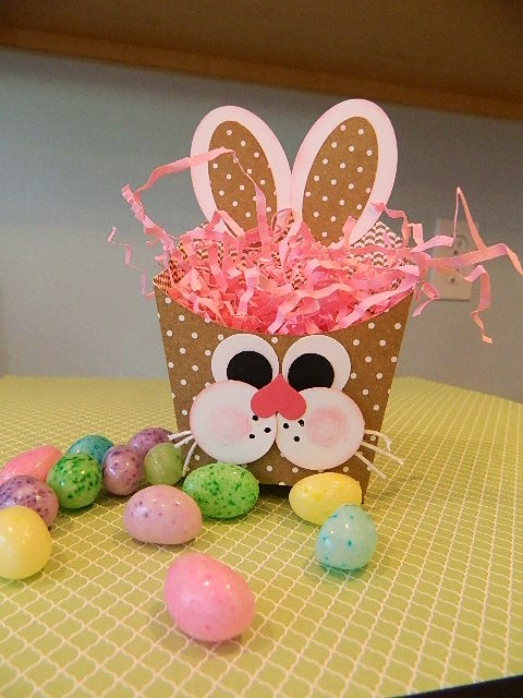 Easter Bunny Fry Box Stampin' UP!