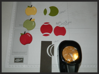 Apple Punch Art Sections