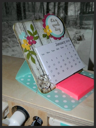 Mini Calendar Easel Card 4 Quot X 4 Quot Great Gift Create