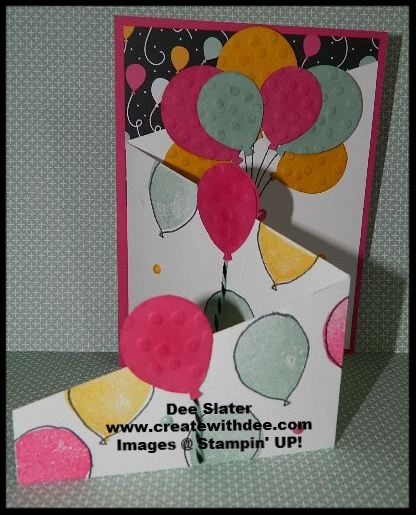 Balloon Celebration Tri-fold