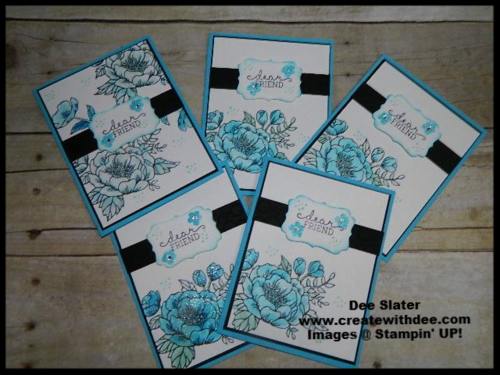 Birthday Blooms Stampin' UP!