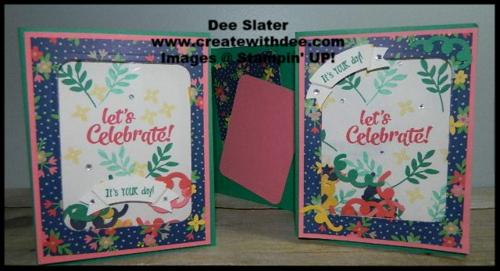 Shaker Card Confetti Celebrations