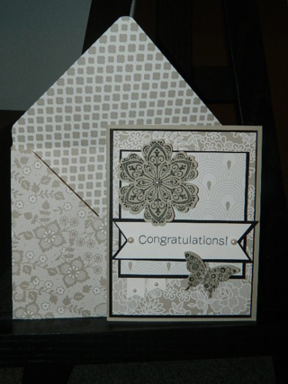 Something Borrowed Card and Envelope