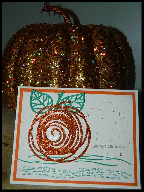 Swirly Scribbles Pumpkin