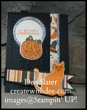 Cat Punch, Spooky Nights Designer Paper